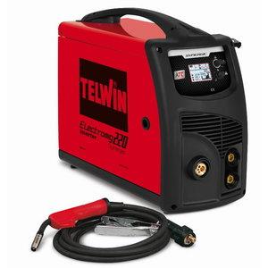 Kaasaskantav poolautomaat Electromig 220 Synergic 400V 3f, Telwin