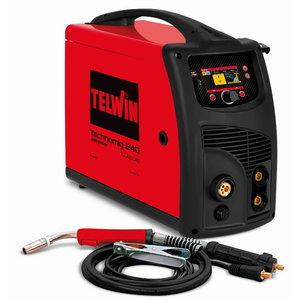 MIG/MAG metināšanas iekārta Technomig 240 Wave, Telwin