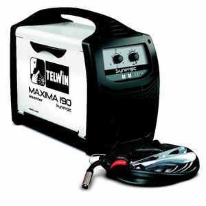 MIG/MAG metināšanas iekārta Maxima 190 Synergic, Telwin