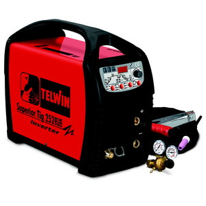 Superior TIG 252 AC/DC-HF/LIFT + TIG ACCESSORIES, Telwin