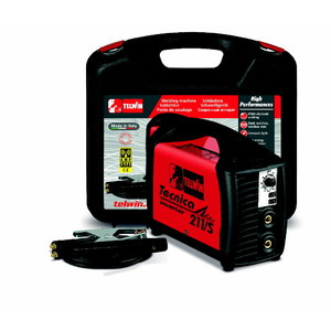 Elektrodu metināšanas iekārta 211/S ar pied.&koferi, Telwin
