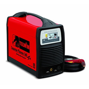 Plasma cutter Superior Plasma 160 compl.with torch, Telwin