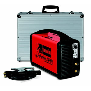Elektrood-keevitusseade Technology 236 HD 230V alum. kohvris, Telwin