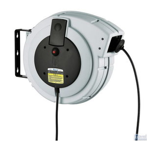 Automatinė ritė su kabeliu 15m, 380V, 5x2,5mm MAVEL, Serviso įrenginiai