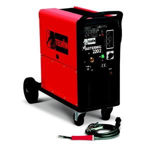 полуавтоматический сварочный аппарат  Mastermig 220 200A=30  EURO-соед. без горелки, TELWIN