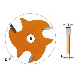 Frēzes asmens Z3 TCT F=8 D=47.6X4, CMT