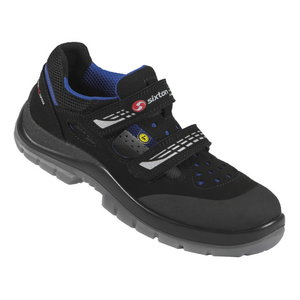 Safety sandals Miami Modular,  black/blue, S1 ESD SRC 44, Sixton Peak