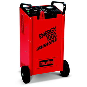 Аккумуляторное зарядное устройство-стартер ENERGY 1000 START 230-400В 12-24В, TELWIN