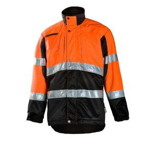 Miškininko švarkas  830 oranžinis/juodas M, Dimex