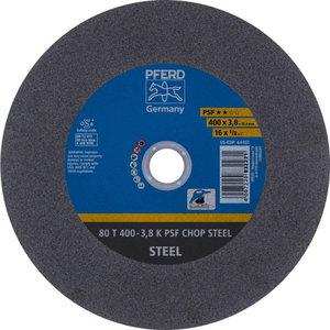 Diskas  80 T400-3,8 A36 K PSF-CHOP 25.4, Pferd
