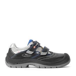 Safety sandals Bellaria 07L/L Modular, black, S1P ESD SRC 47, Sixton Peak