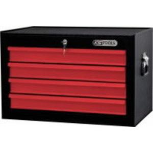 BASIC įrankių  dėžė, 678x451x459mm, 4 stalčiai , su spynele, KS tools
