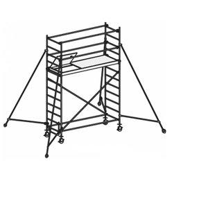 Mobile aluminum scaffolding 8371/ 04, Hymer