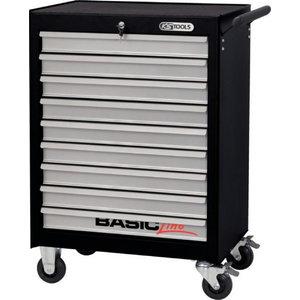 Tööriistakäru 9 sahlit  BASIC KST 990x678x459mm., KS Tools