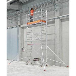 Mobile aluminum scaffolding 8472/, Hymer