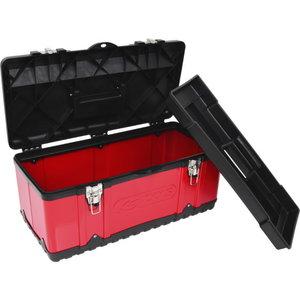 Plastist ja terasplekist tööriistakast, 582x298x255 mm, KS Tools