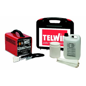 Cleantech 100 cleaning set for Tig, Mig stainless steel, Telwin
