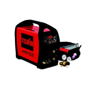 TIG-welder Technology TIG 230 DC HF/LIFT VRD+accessories, Telwin
