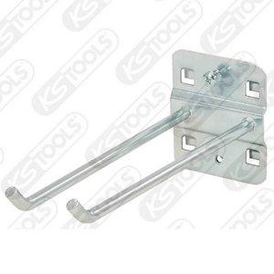 Tool holder doublebent hookend, 45°, 150mm, KS Tools