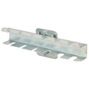 Screwdriver holder for perf. wall, 6 holes, 150x55mm, KS Tools