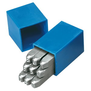 Number punch set 2200-6, Gedore