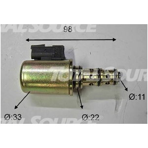 Solenoid 25/220994, TVH Parts