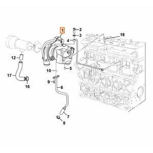 Turbo Kohler mootorile 333/H5647, TVH Parts
