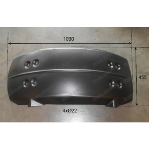 Mudguard LOADALL JCB 400/D7827, Total Source
