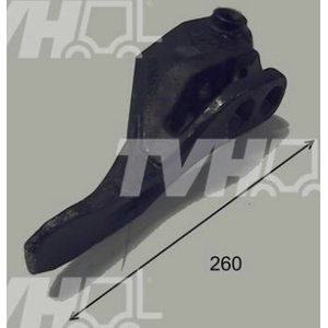 Bucket tooth, right, 400/F0345, TVH Parts