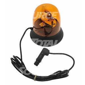 Bākuguns 12V, LED, ar magnētu, Total Source