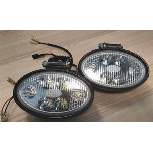 Working light set oval LED (pair) for 4CX 700/G6320, Total Source