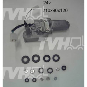 Klaasipuhastaja mootor 24V 714/40346, Total Source