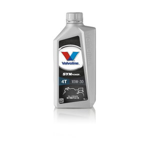 4T SYNPOWER 10W30 motor oil, Valvoline