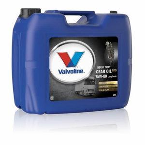 Transmissiooniõli HD GEAR OIL PRO 75W80 LD 20L, VALVOLINE