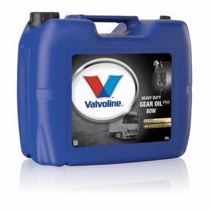 Transmisijas eļļa HD GEAR OIL PRO 80W 20L, Valvoline
