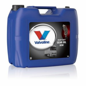 Transmissiooniõli HD GEAR OIL 80W 20L, VALVOLINE