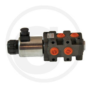 6/2 valve, 12VDC, Granit
