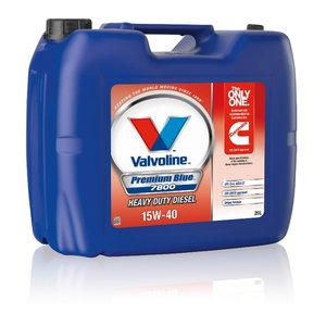 Mootoriõli PREMIUM BLUE 7800 15W40 20L, Valvoline