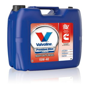 Alyva varikliui Premium BLUE 7800 15W40 20L, Valvoline
