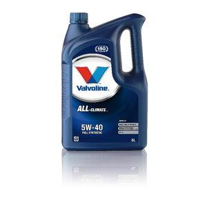 Mootoriõli ALL CLIMATE C3 5W40 5L, Valvoline