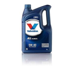 Mootoriõli ALL CLIMATE 5W40 5L, Valvoline