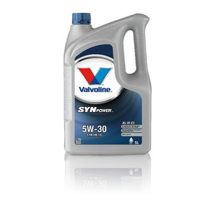 SYNPOWER XL-III C3 5W30 motor oil, Valvoline