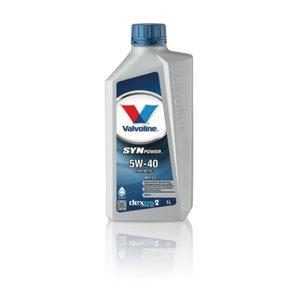 SYNPOWER 5W40 motor oil 1L, Valvoline