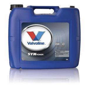 SYNPOWER ENV C2 0W30 motor oil, Valvoline