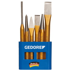Chisel and punch set 106, Gedore