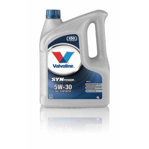 SYNPOWER ENV C2 5W30 motor oil 4L, Valvoline