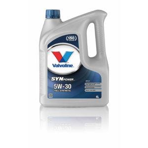 SYNPOWER ENV C2 5W30 motor oil 4L, , Valvoline