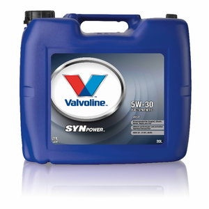 SYNPOWER ENV C2 5W30 motor oil, Valvoline