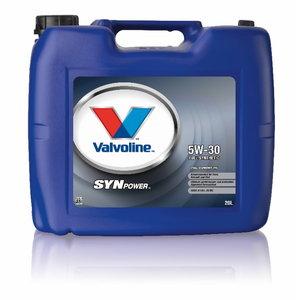 SYNPOWER FE 5W30 motor oil 20L, Valvoline