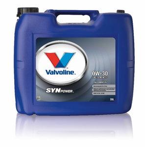 SYNPOWER FE 0W30 motor oil, Valvoline